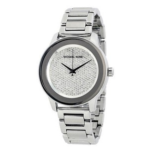 Michael Kors Michael Kors Kinley Diamond Pave Dial Stainless Steel Mens Watch