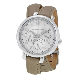 Michael Kors Michael Kors Kohen Multi-Function Pearlized White Dial Ladies Watch