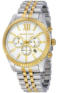 Michael Kors Michael Kors Lexington Dial Two-tone Watch