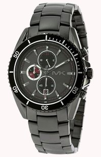 Michael Kors Michael Kors Men Lansing Gunemtal Chronograph Watch