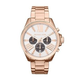 Michael Kors Michael Kors Mk5712 Womens Rose Gold Tone Chrono 43mm Watch