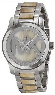 Michael Kors Michael Kors MK5787 Runway Silver Dial Stainless Steel Women's Watch