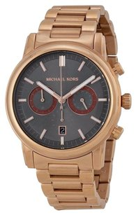 Michael Kors Michael Kors MK8370 Men Pennant 43mm Rose Gold Chronograph Watch