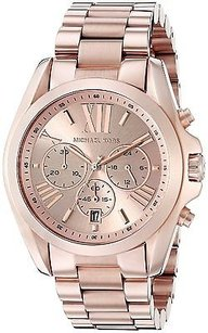 Michael Kors Michael Kors Roman Numeral Watch Mk5503 Rose Gold
