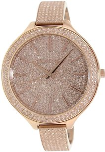 Michael Kors MICHAEL KORS RUNWAY ROSE GOLD CRYSTAL PAVE GLITZ WOMENS WATCH MK3251