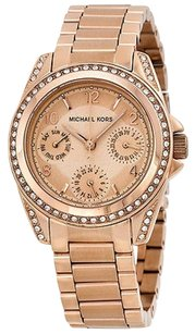 Michael Kors Michael Kors Blair Multi-function Rose Gold-tone Ladies Watch
