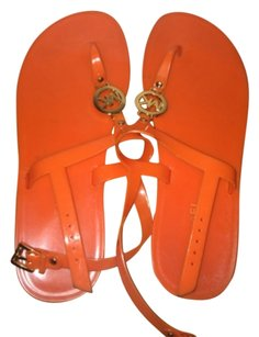 Michael kors orange sandals Orange Sandals