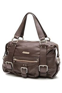 Michael Kors Satchel in Mocha (Dark Brown)