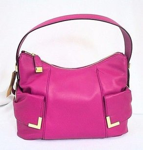 Michael Kors Beverly Fuchsia Shoulder Bag