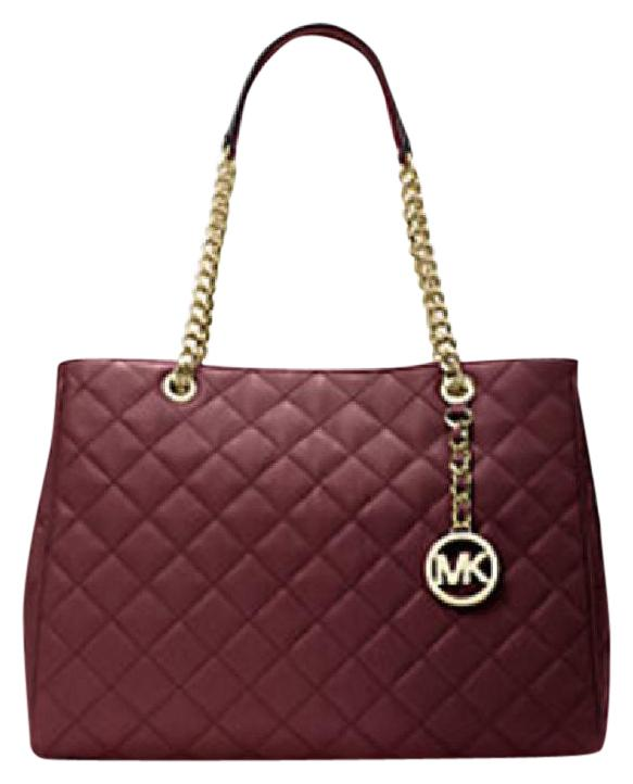 Michael Kors New Quilted Susannah Leather Business