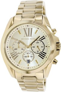 Michael Kors Women's MK New Gold Stainless-Steel Quartz Watch