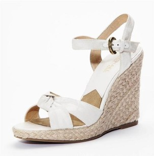 MICHAEL Michael Kors Womens White Platforms