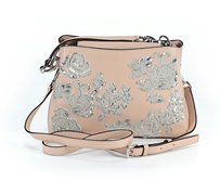 MICHAEL Michael Kors Embroidered Classic Beaded Leather Detail Cross Body Bag