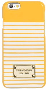 MICHAEL Michael Kors Michael Kors Norwood Stripe iPhone 6 & 6S Cover Case Sunflower White