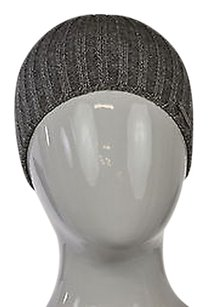 MICHAEL Michael Kors Michael Michael Kors Womens Gray Beanie One Metallic Stretch Hat