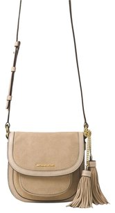 MICHAEL Michael Kors Dunn Suede Shell Shoulder Bag