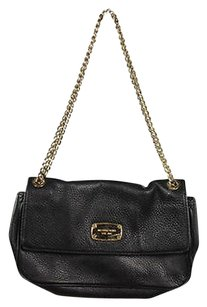 MICHAEL Michael Kors Womens Solid Leather Handbag Shoulder Bag