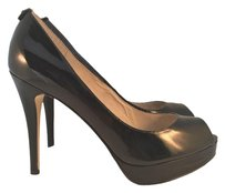 MICHAEL Michael Kors York Patent Black Patent Pumps