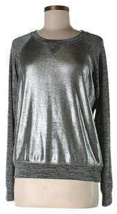 Michael Stars Metallic Sweatshirt