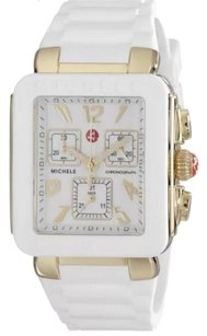 Michele Michele MWW06L000013 Women's Park Jelly Bean' Chronograph White Silicone Watch