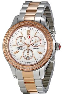 Michele MWW17A000017 Jetway Diamond Two-tone Ladies Watch