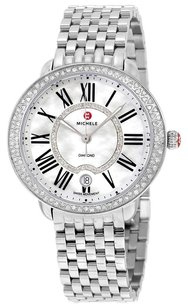 Michele MWW21B000030 Serein Mother of Pearl Dial Stainless Steel Ladies Watch