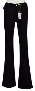 MiH Jeans Mih Marrakesh Womens Black Cotton Denim Pants Flare Leg Jeans