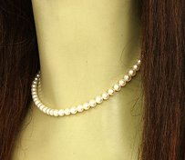 Mikimoto Mikimoto 6mm Akoya Pearls Necklace With Sterling Silver Clasp