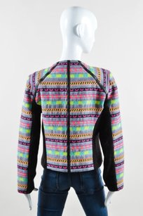 MILLY Neon Multicolor Black Jacket