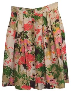 MILLY Skirt floral print