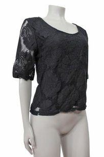MINKPINK Persuing In Shirt Tail Top Black