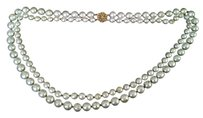 Miriam Haskell Miriam Haskell double strand faux baroque pearl necklace