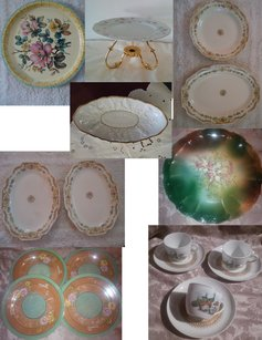 Mismatched China Lot ~ Shabby Romance Collection