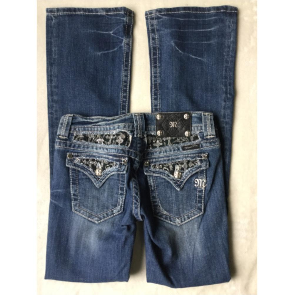 Buckle Bootcut Jeans - Bod Jeans