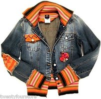 Miss Sixty Jeans Denim Womens Jean Jacket