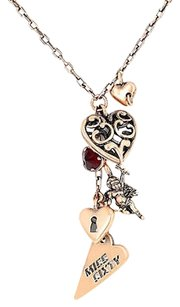 Miss Sixty Miss Sixty Ciondolo Collection Angel And Heart Bronze Ladies Necklace
