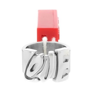 Miss Sixty Miss Sixty Love Hippie Stainless Steel Ladies Ring