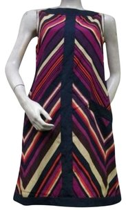 Miss Sixty short dress Multi-Color M60 Big Zigzag on Tradesy
