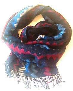 Missoni MISSONI Made in Italy foulard wool silk scarf men women Unisex Winter Accessory Couture Runway Italian