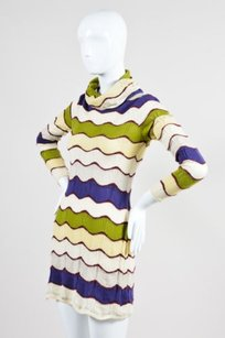 Missoni short dress Multi-Color Sport Cream Purple on Tradesy