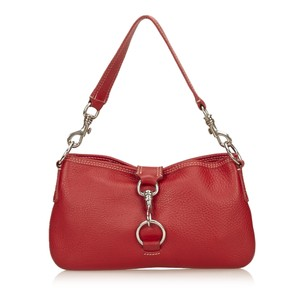 Miu Miu Leather Others Red Shoulder Bag