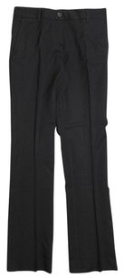 Miu Miu Low Rise Trouser Pants Black