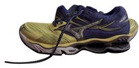 Mizuno Yellow, Purple-Blue, Silver and White Athletic