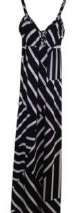 Black & White Maxi Dress by Moda International