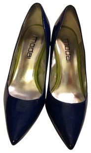 Moda Spana Brilliant blue Pumps