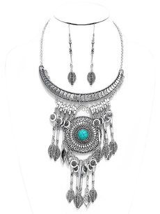 Modern Edge Tribal necklace