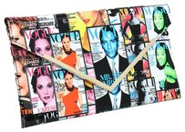Other Magazine Magazine Fashion Multi Clutch