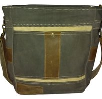Mona B Organic Canvas Cross Body Bag