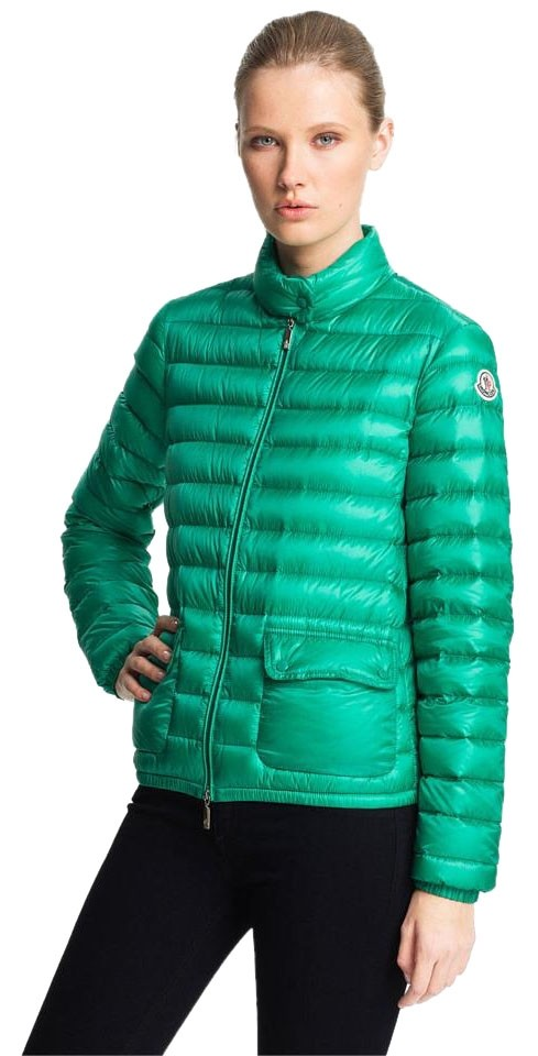 Moncler Packable Down Green Jacket ...