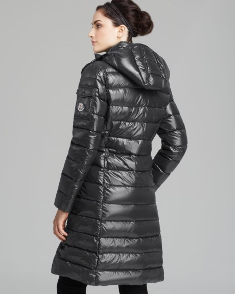 moncler moka coat grey